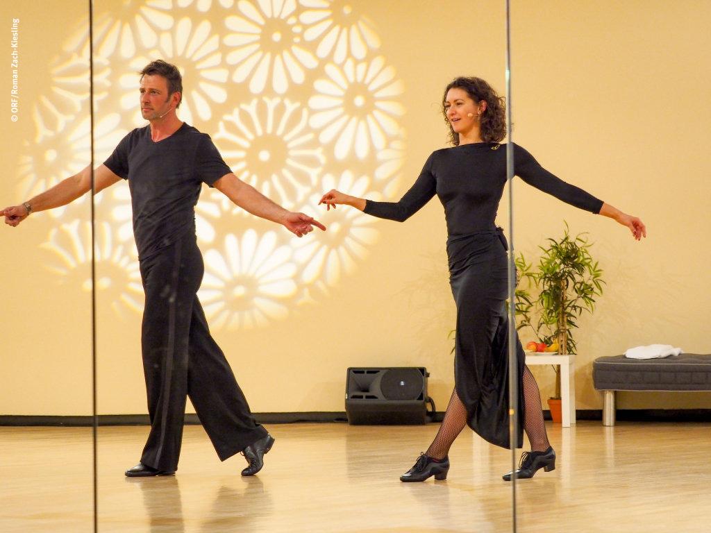 Volker Piesczek tanzt